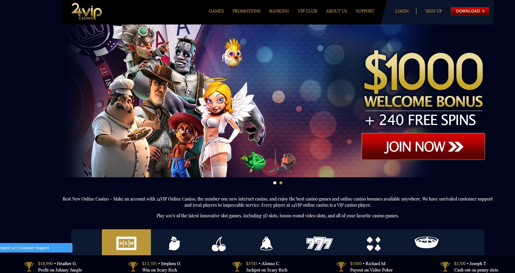 24VIP-Casino-Screenshot