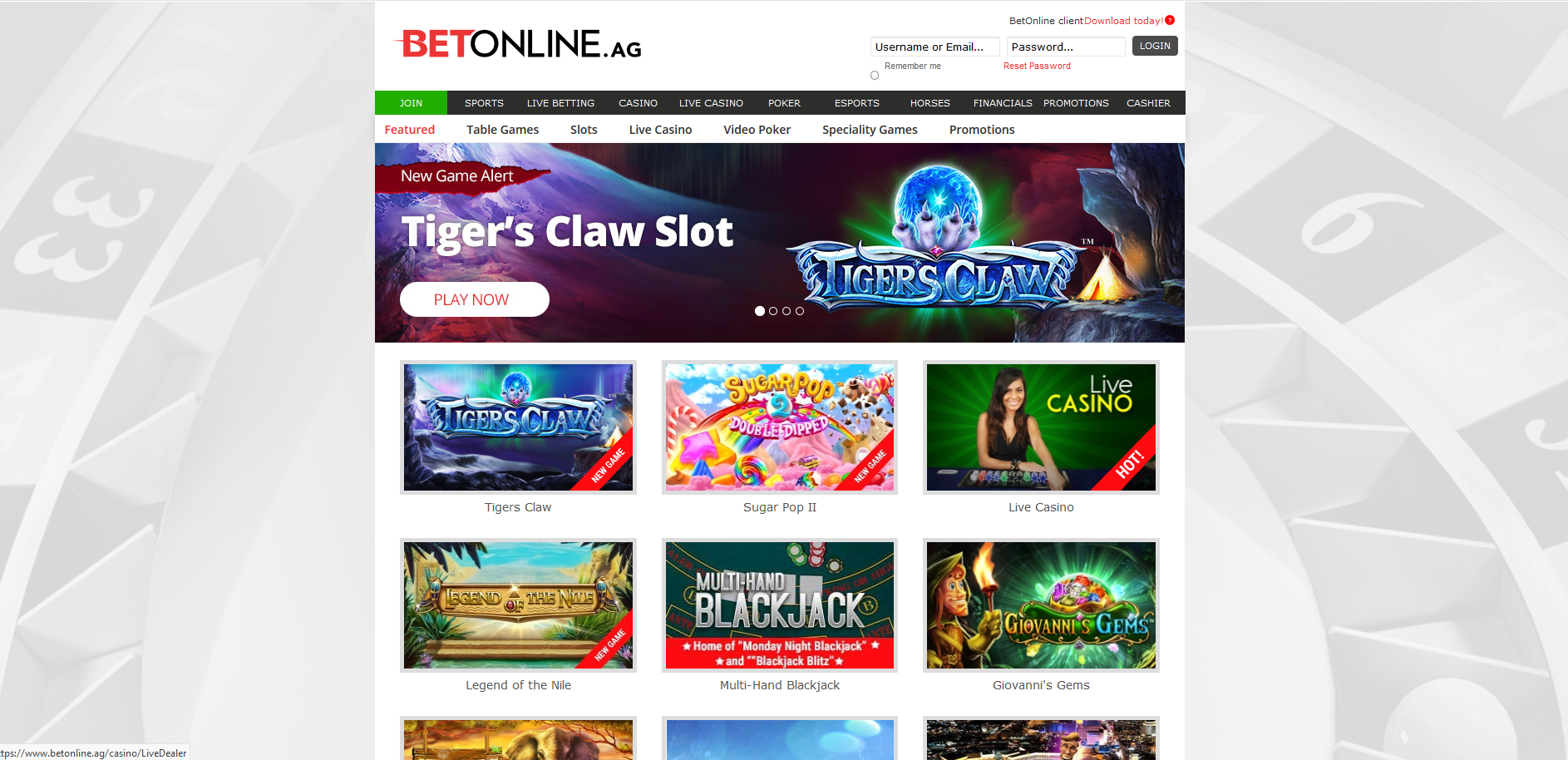 Betonline-Casino-Screenshot