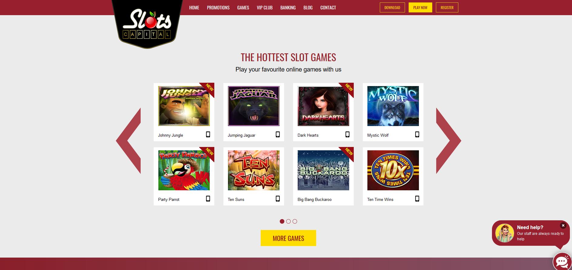 Slots Capital Casino Screenshot
