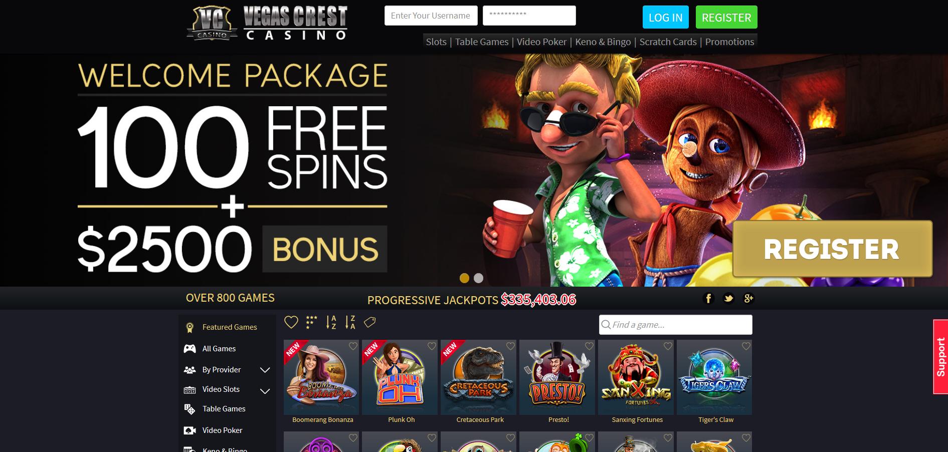 Vegas Crest Screenshot