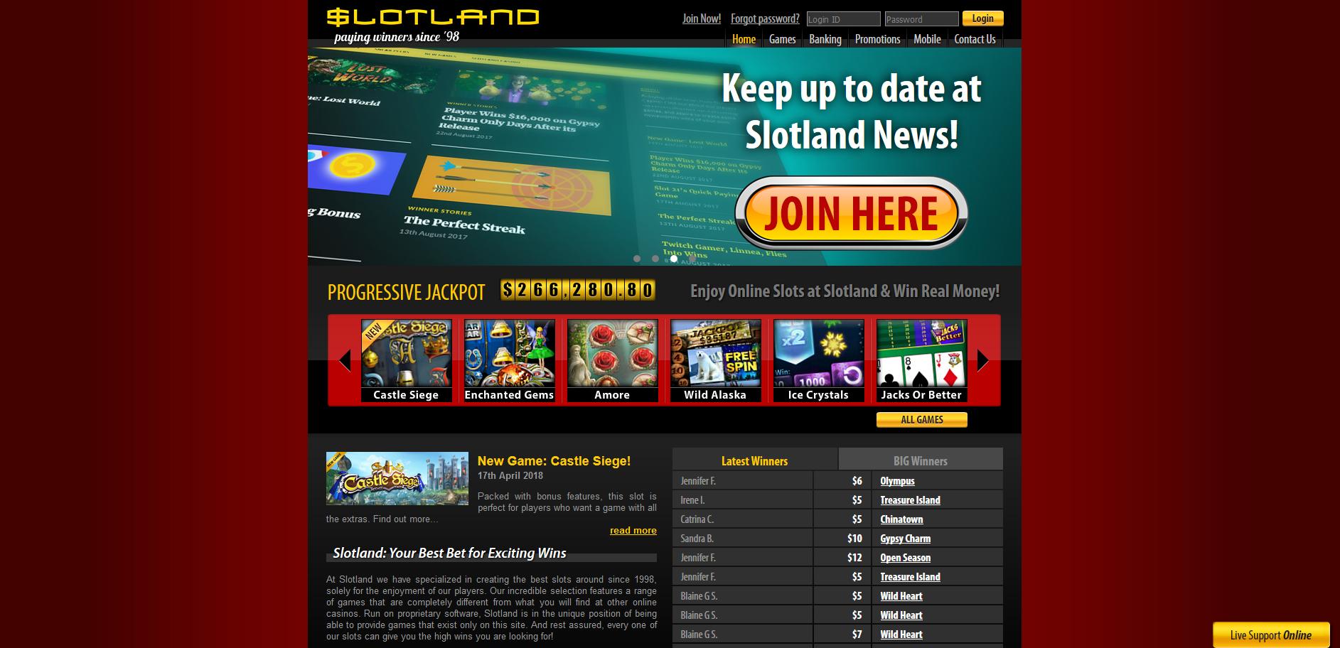 Slotland Screenshot