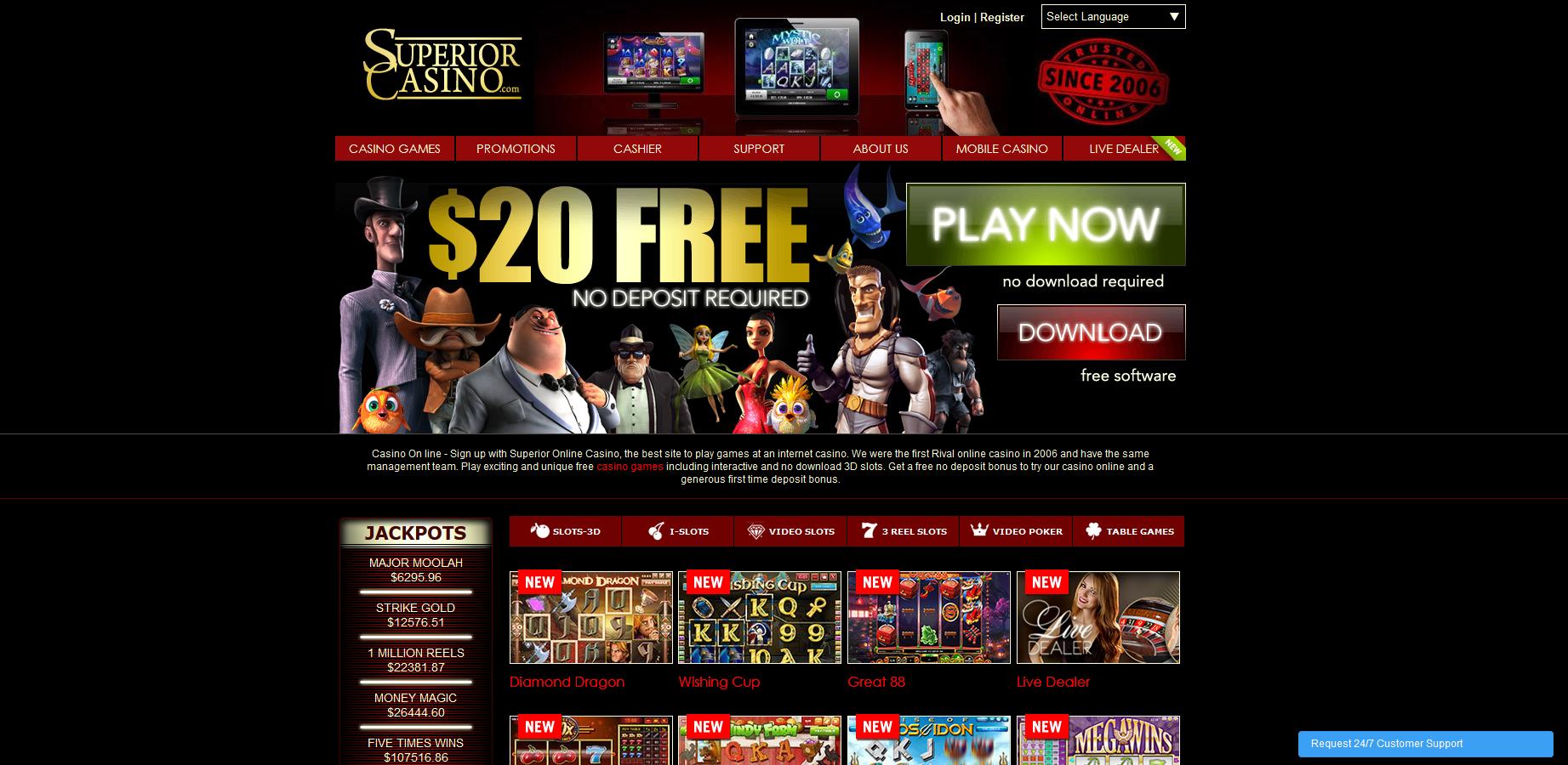 Superior-Casino-Screenshot